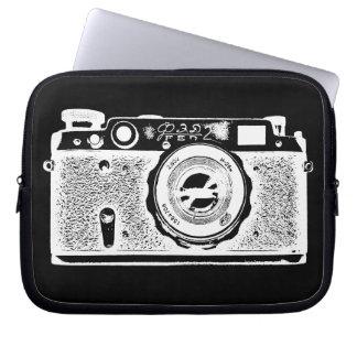 Russian Camera - in Negative Computer Sleeve