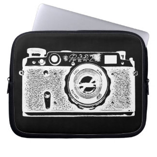 Russian Camera - in Negative Laptop Sleeves