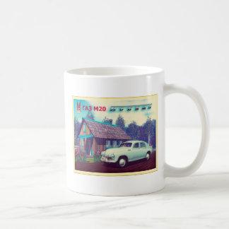 Russian Car And Dacha Classic White Coffee Mug