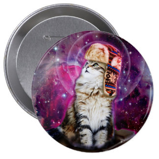 russian cat in space button