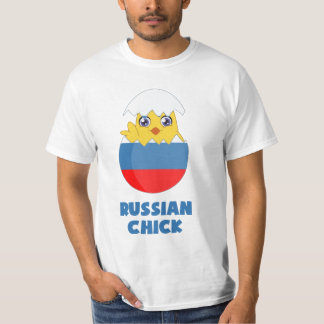 Russian Chick, a Girl from Russia T-Shirt