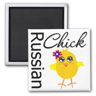 Russian Chick Refrigerator Magnets