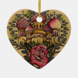 Russian Church Ceramic Ornament