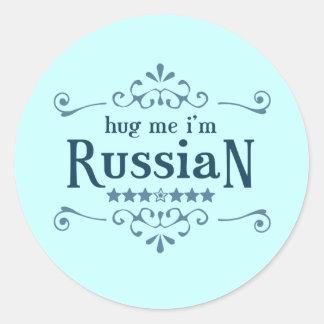 Russian Classic Round Sticker