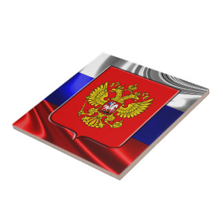 Russian Coat of arms Ceramic Tile