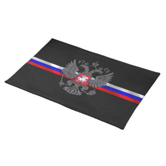 Russian Coat of arms Cloth Placemat