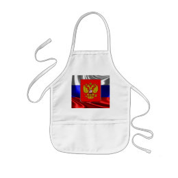 Russian Coat of arms Kids' Apron