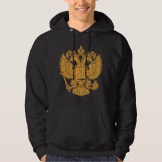 Russian Coat of Arms of The Russian Federation Hoodie