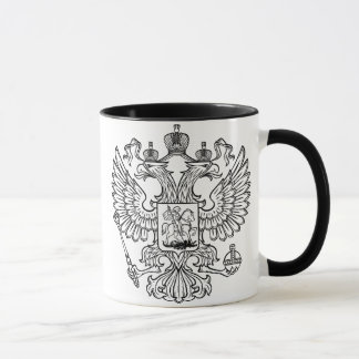 Russian Coat of Arms of The Russian Federation Mug