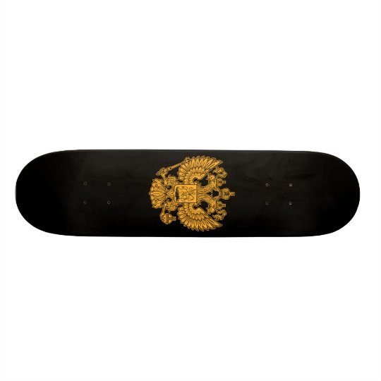 Russian Coat of Arms of The Russian Federation Skateboard Deck