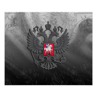 Russian Coat of arms Poster
