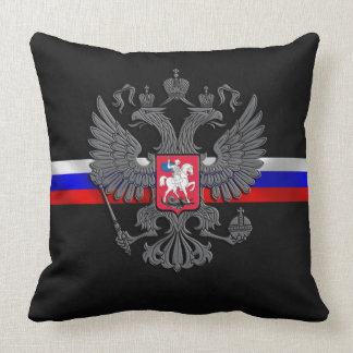 Russian Coat of arms Throw Pillow