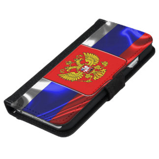 Russian Coat of arms Wallet Phone Case For iPhone 6/6s