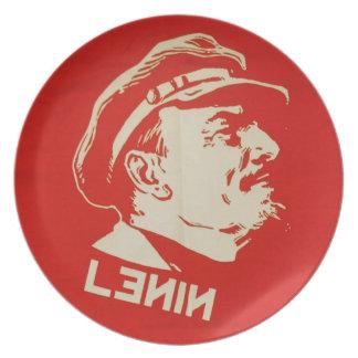 Russian Communist Leader Lenin Plate