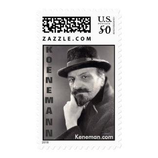 Russian Composer Feodor Koenemann 1873-1937 Postage