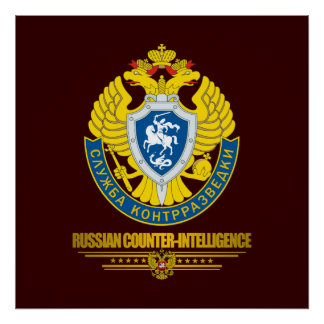 Russian Counter-Intelligence Poster