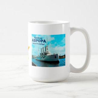 Russian Cruiser Aurora Coffee Mug
