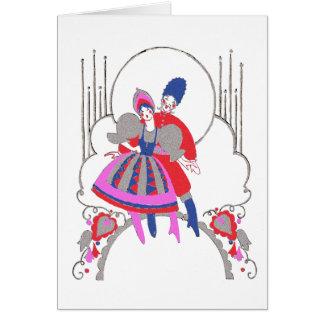 Russian Dance Card