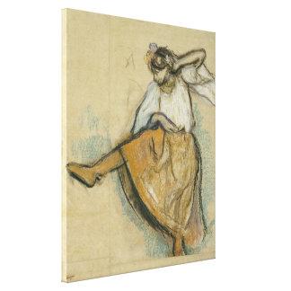Russian Dancer by Edgar Degas Canvas Print