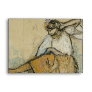 Russian Dancer by Edgar Degas Envelope
