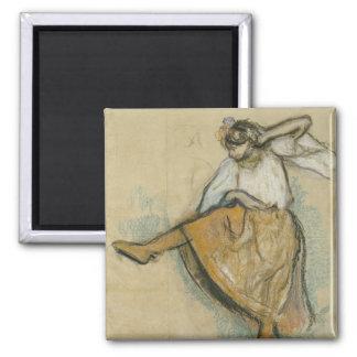 Russian Dancer by Edgar Degas Magnet