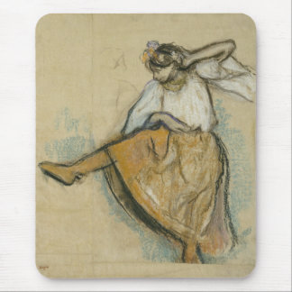 Russian Dancer by Edgar Degas Mouse Pad
