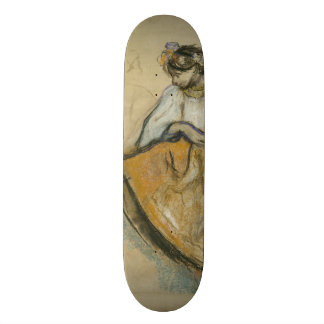 Russian Dancer by Edgar Degas Skateboard
