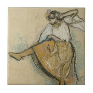 Russian Dancer by Edgar Degas Ceramic Tiles