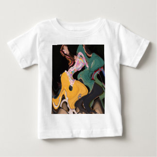 Russian dancers abstract baby T-Shirt