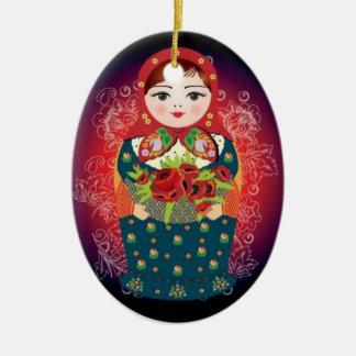 """Russian Doll Christmas Ornament - """"Sophia"""""""