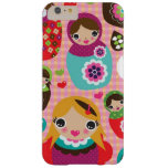Russian doll illustration background barely there iPhone 6 plus case