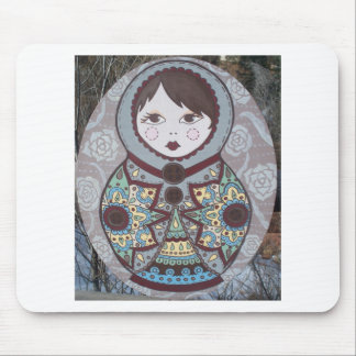 Russian Doll Mouse Pad