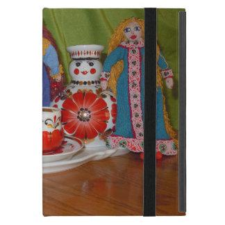 Russian Doll Tea Time Cover For iPad Mini