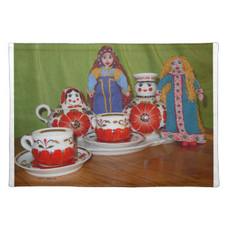 Russian Doll Tea Time Placemat