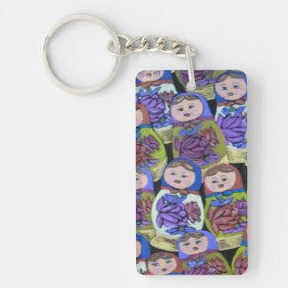 Russian Dolls Keychain