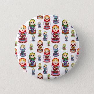 russian dolls pinback button