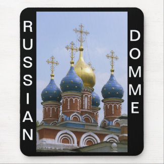 RUSSIAN DOMME MOUSE PAD