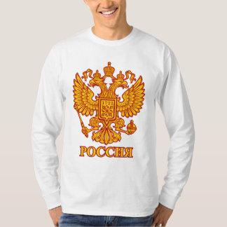 Russian Double Headed Eagle Emblem Longsleeve Tee