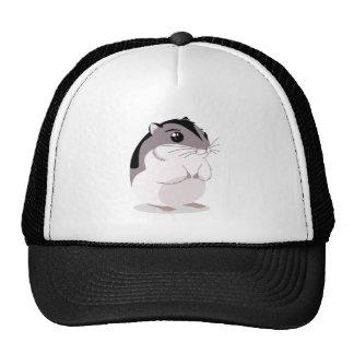 Russian Dwarf Hamster Cartoon Mesh Hat