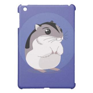 Russian Dwarf Hamster Cartoon iPad Mini Cases