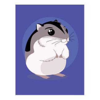 Russian Dwarf Hamster Cartoon Postcard