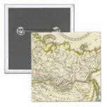 Russian Empire 2 Inch Square Button