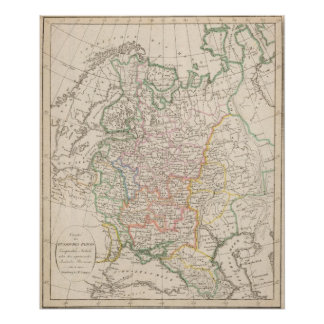 Russian Empire, Europe Antheil Print