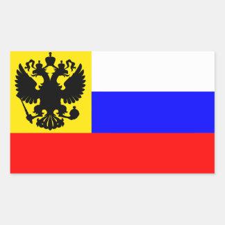 Russian Empire Flag (1914–1917) Rectangular Sticker