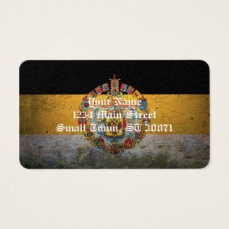 Russian Empire Flag Business Card