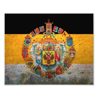 Russian Empire Flag Photo Print