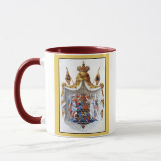 Russian Empire, Full coat of arms Mug