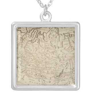 Russian Empire in Europe and Asia Custom Necklace