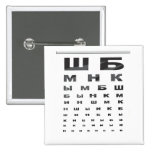 Russian Eye Chart Pins