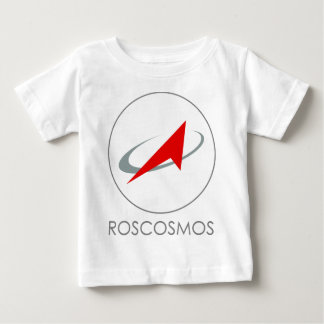 Russian Federal Space Agency: Roscosmos Роскосмос Baby T-Shirt